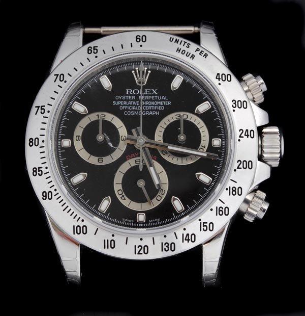 154: * Rolex, Cosmograph Daytona, a gentleman's stainle