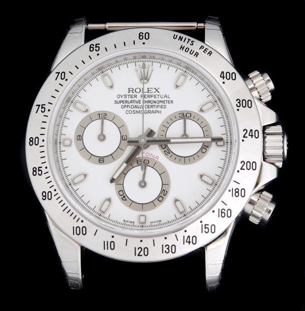 160: * Rolex, Cosmograph Daytona, a gentleman's stainle