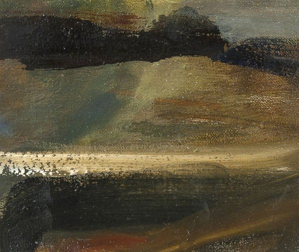 4A: Jane Fletcher Light across water Oil on canvas  15