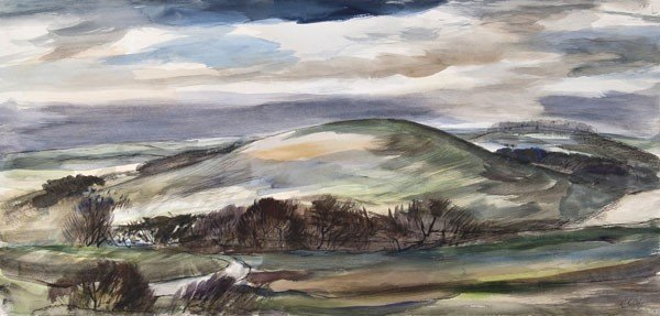15: Rowland Suddaby (1912-1973) The Downs, Inkpen, Ber