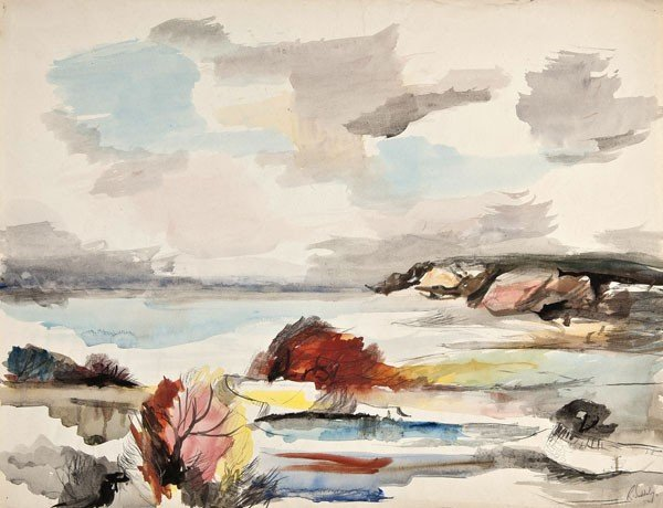 20: Rowland Suddaby (1912-1973) North Sea Bay, Yorkshi