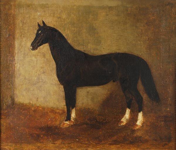 1167: Circle of Károly Lotz (1833-1904) Horses and foal