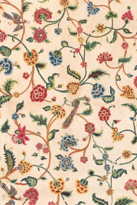 238: An early 18th century cover or pillow sham, the un