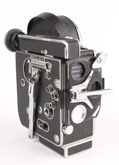 "294: A Bolex H16 Reflex camera, with a Dallmeyer f=3"" f"