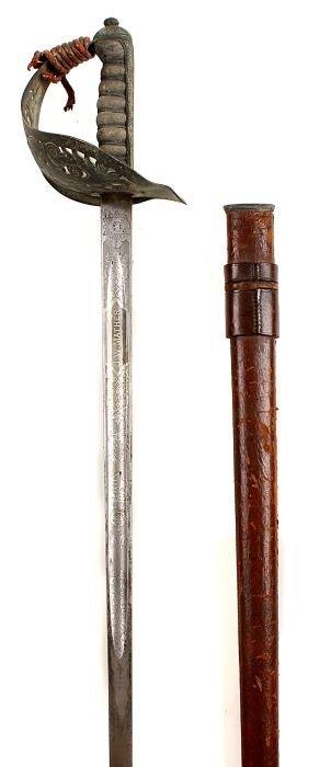 3: An 1897 Pattern Infantry Officer's Sword GRV by J.