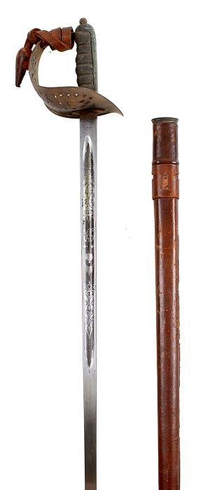 4: An 1897 Pattern Infantry Officer's Sword GRV, regu