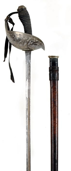 5: A 1912 Pattern GRVI Cavalry Officer's Sword by Wil