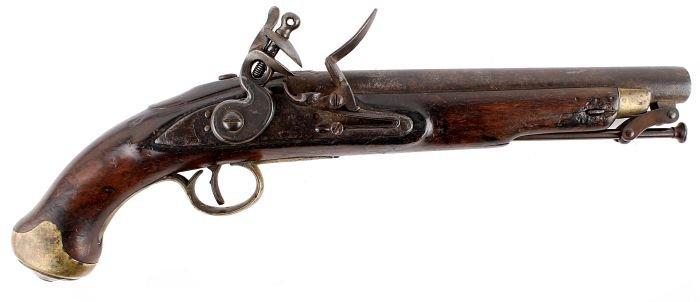 20: A New Land Pattern Flintlock Pistol, Early 19th Ce