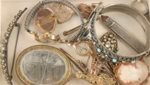 245: Rotary, a lady's 9 carat gold bracelet watch, 8.6g