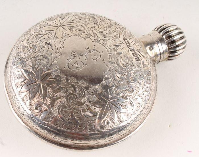 375: An Edwardian silver novelty scent bottle by James