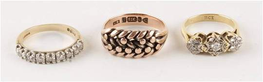 Rotary, a lady's 9 carat gold bracelet watch, Lond