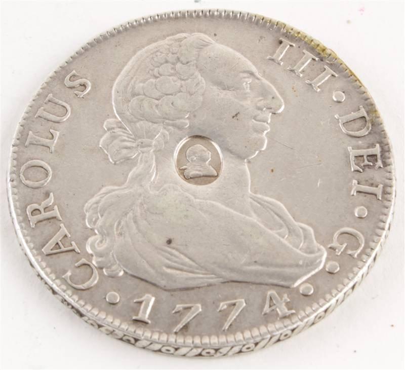 George III, Emergency issue Dollar (1797), oval co