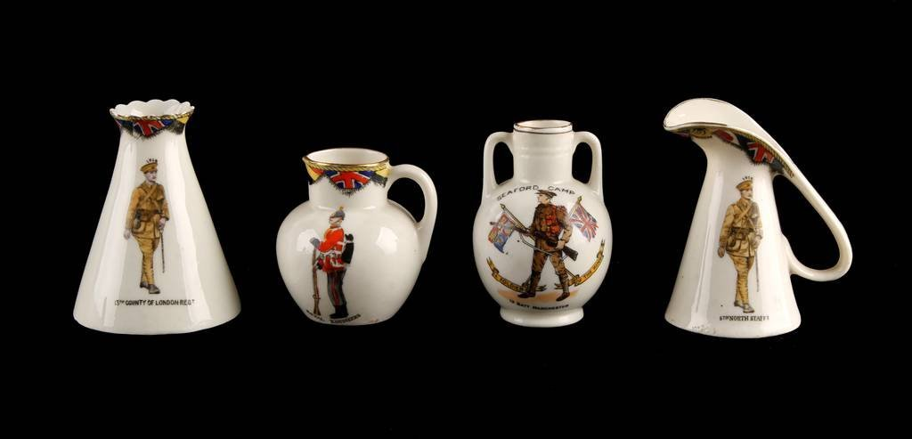 Model of Jug by The Duchess China, inscribed '5th