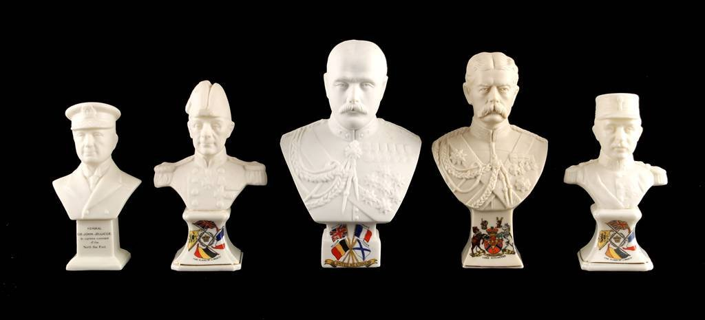 Bust of Lord Kitchener by Arcadian China, square g