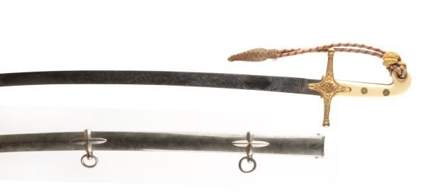 A Victorian General Officer's Mameluke Hilted Swor