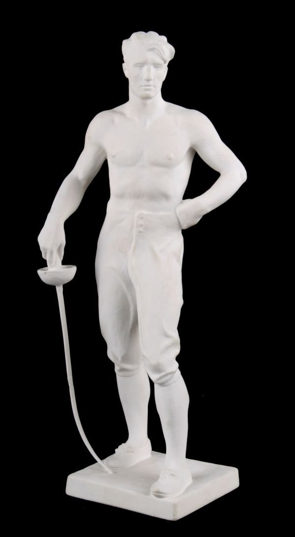 An Allach Style Figure Fechter / Fencer