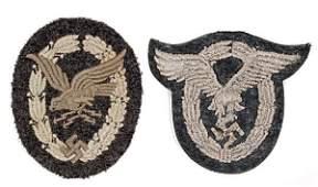 A Second World War German Luftwaffe Cloth Pilots B