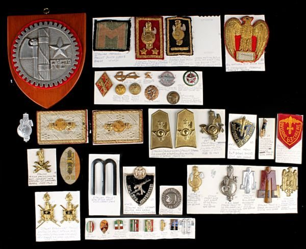 A Collection of Second World War Italian Fascist I