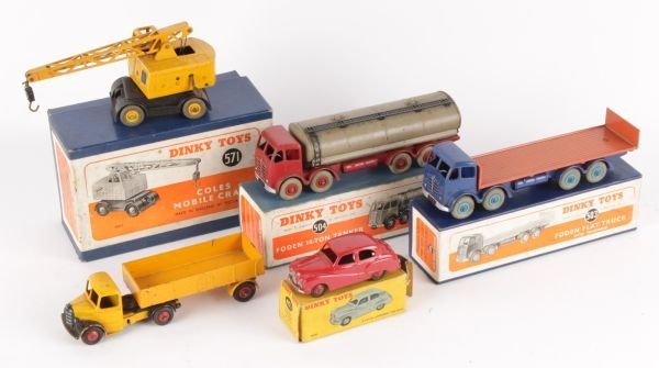 A Dinky No.503, Foden Flat Truck with Tailboard,