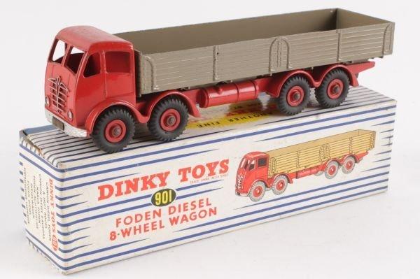 A Dinky No.901, Foden Diesel 8-Wheel Wagon,  secon