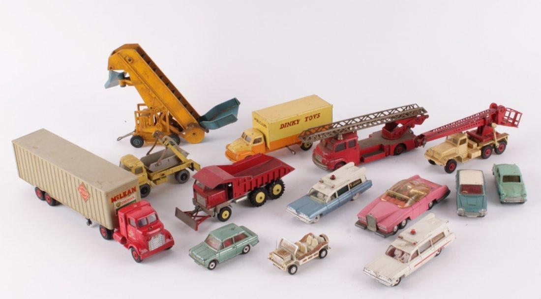 Fourteen assorted Dinky diecast models,  circa 196