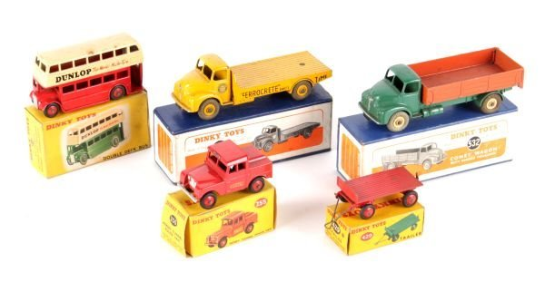 A Dinky No.533, Leyland Cement Wagon,  yellow with
