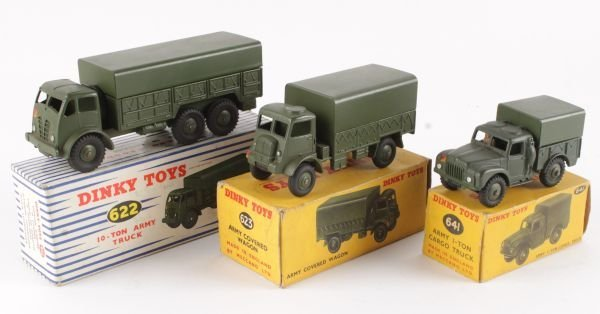 A Dinky No.622, Foden 10-Ton Army Truck,  olive dr