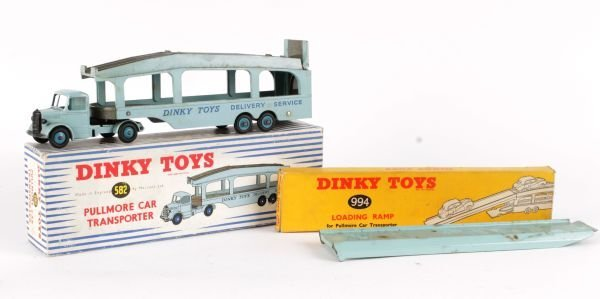 A Dinky No.582, Pullmore Car Transporter,  pale bl