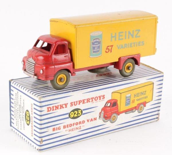 A Dinky No.923, Big Bedford Van 'Heinz',  red and