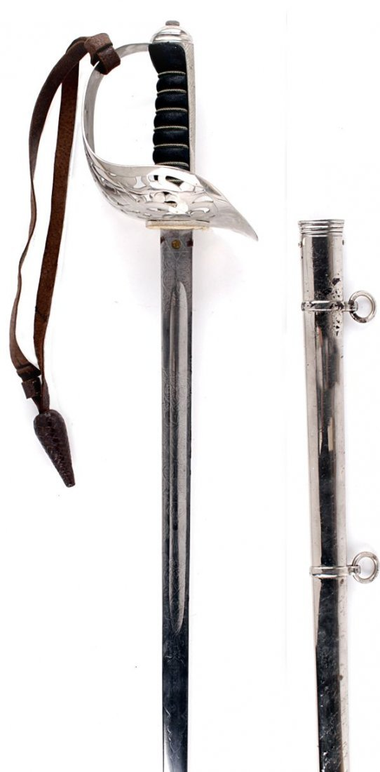 An 1897 Pattern Infantry Officer's Sword GRV , wit