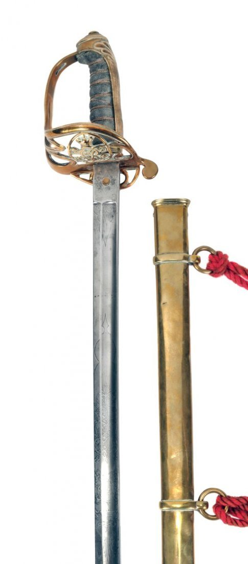 A Victorian 1822 Pattern Infantry Officer's Sword