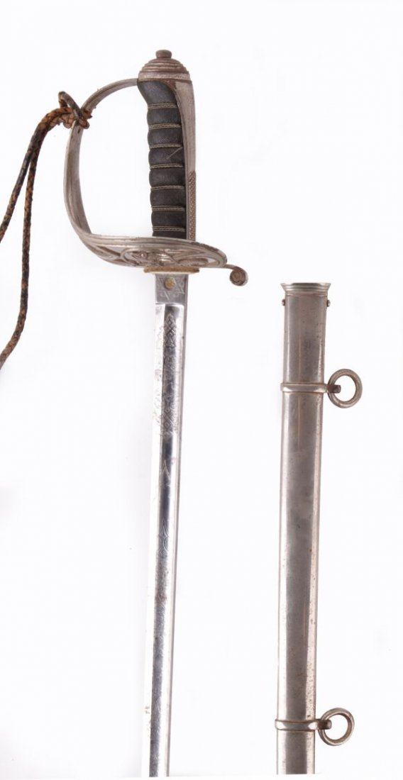 A Victorian 1827 Pattern Infantry Officer's Sword