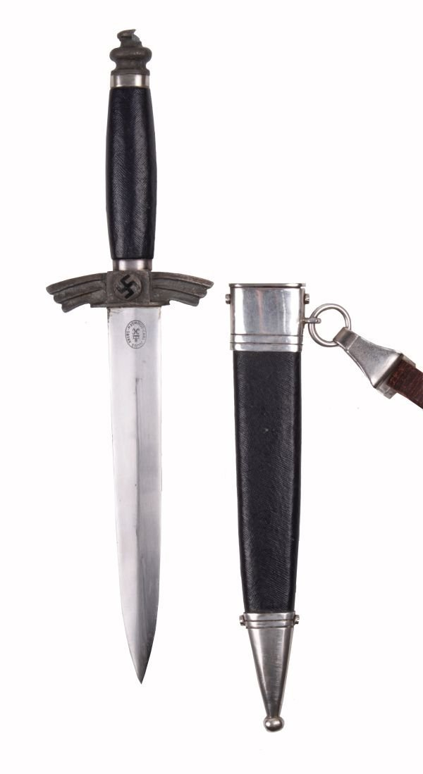 A Model 1937 NSFK Service Dagger (Flyer's Knife) b
