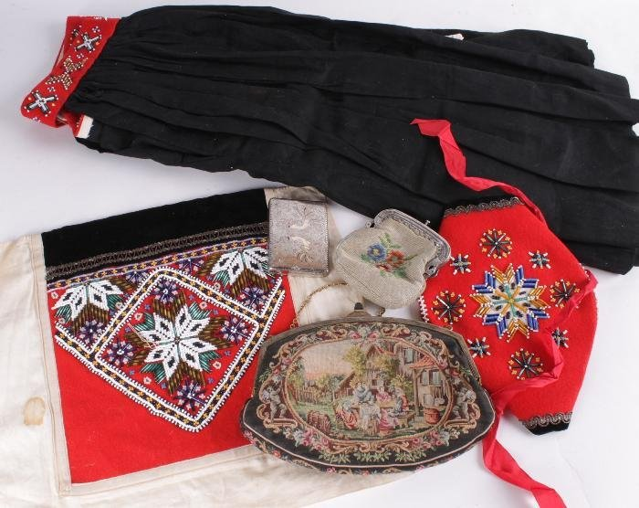 An early 20th century child's traditional costume,