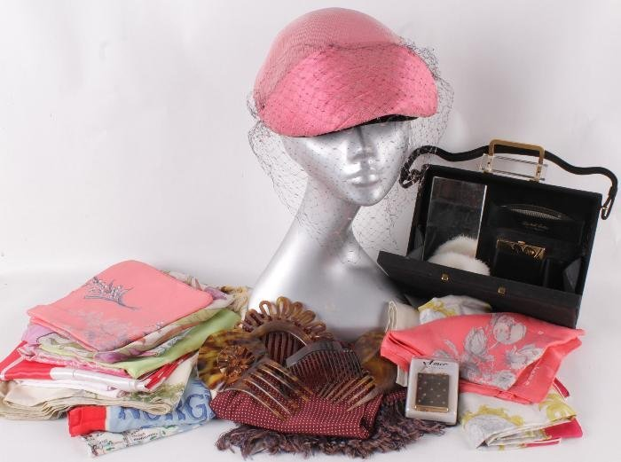 A collection of vintage costume and accessories,