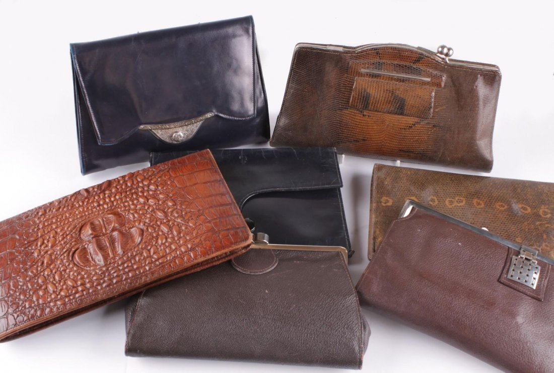 A collection of handbags from the 1930s and 1940s