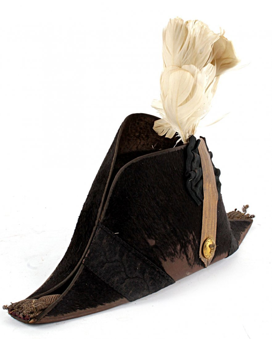 A Victorian Staff Officer's Cocked Hat by J.B