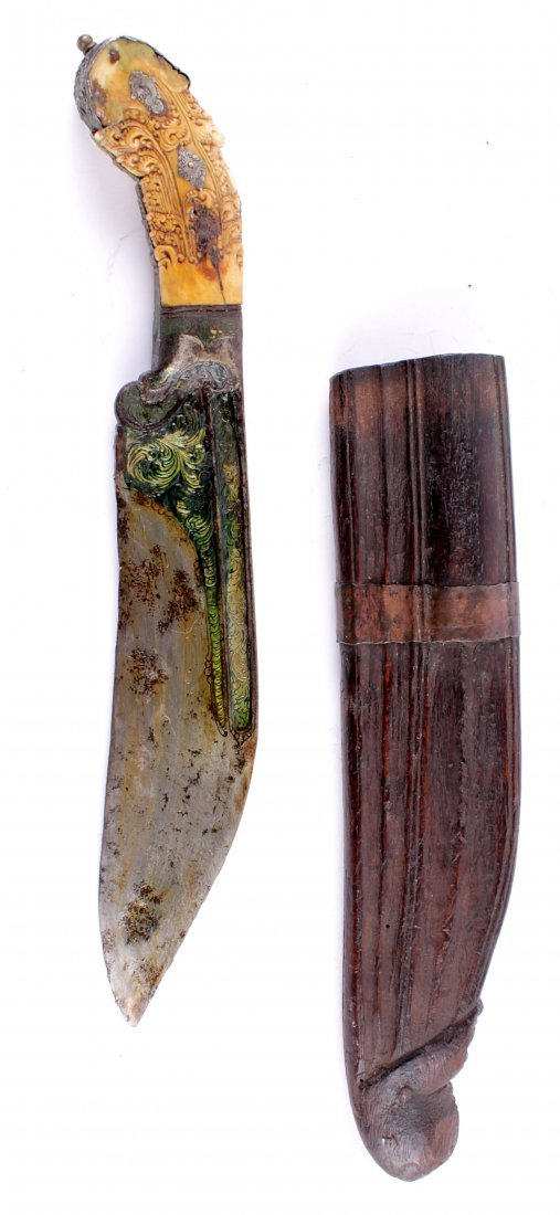 A Sinhalese Dagger Pia Kaetta of typical form