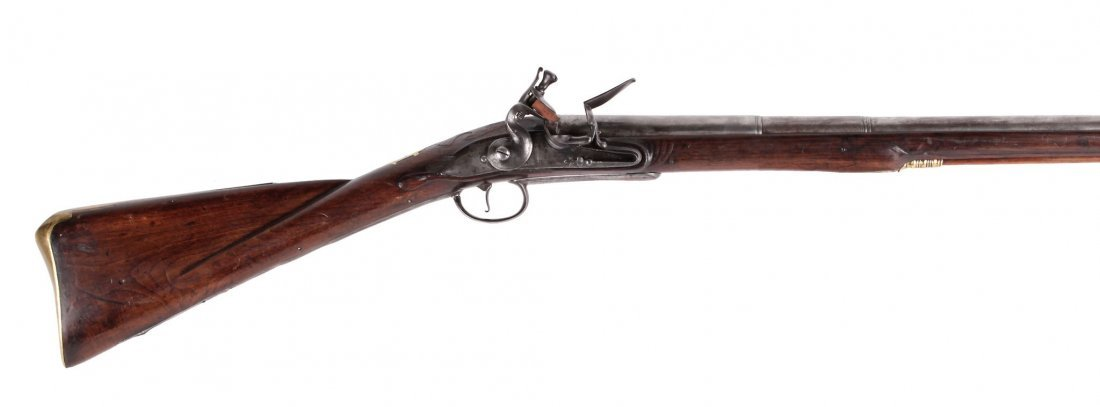 A Rare 18-Bore Breech-Loading Flintlock Park Rifle By