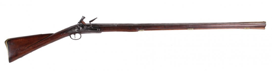 A Rare 18-Bore Breech-Loading Flintlock Park Rifle By - 2