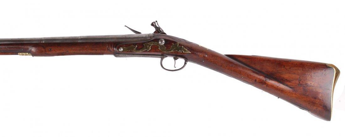 A Rare 18-Bore Breech-Loading Flintlock Park Rifle By - 3