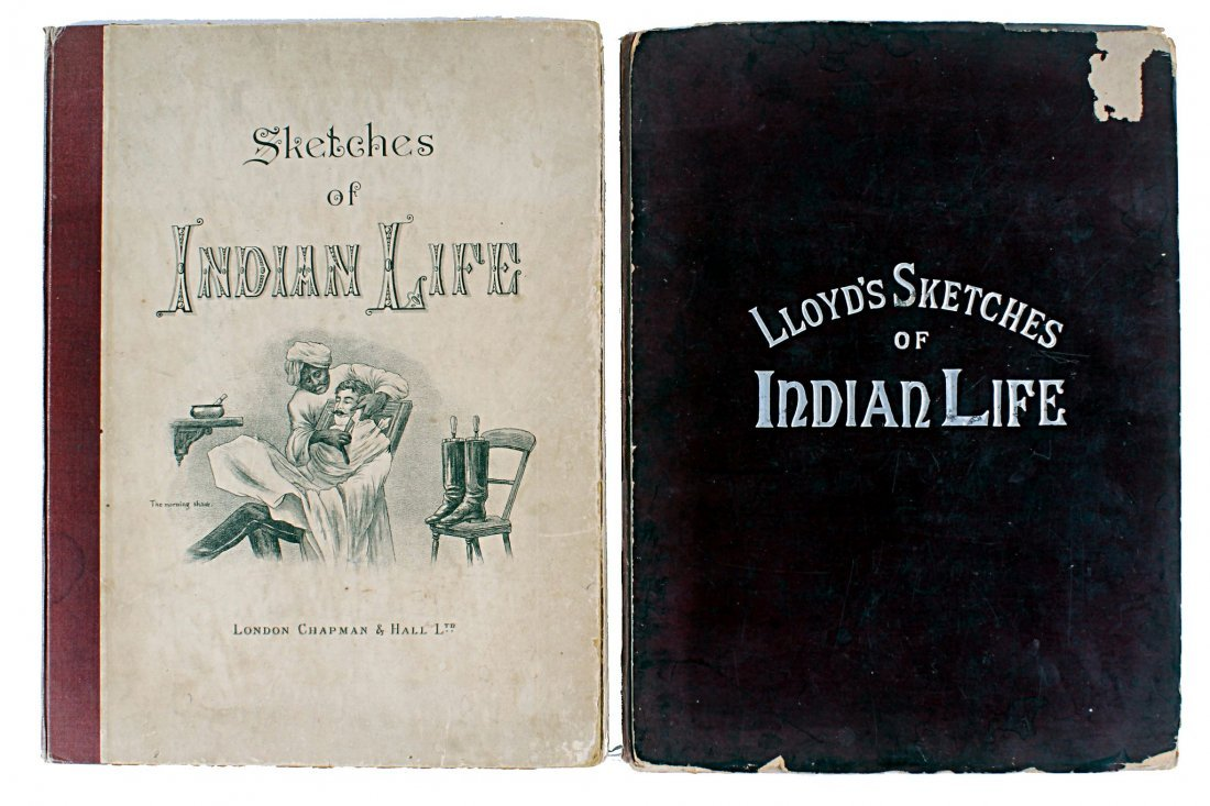 [India] Lloyd's Sketches of Indian Life published in