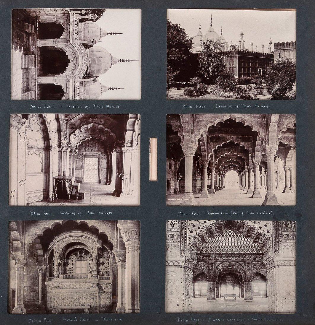 Unknown artist - Album of 19th century photographs of