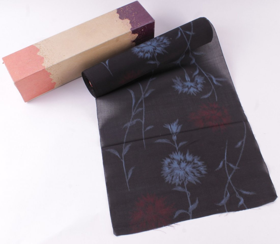A roll of mid-20th century Japanese printed gauze