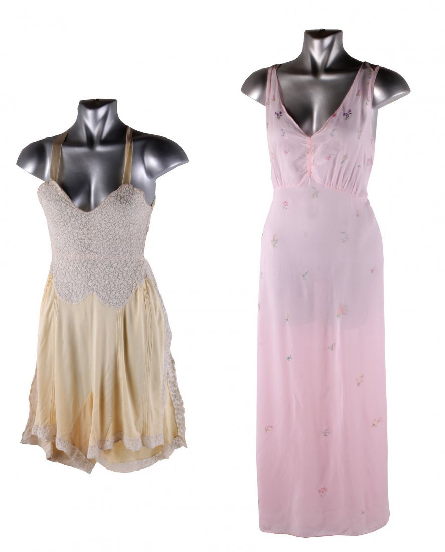 A quantity of nightdresses, petticoats and lingerie,