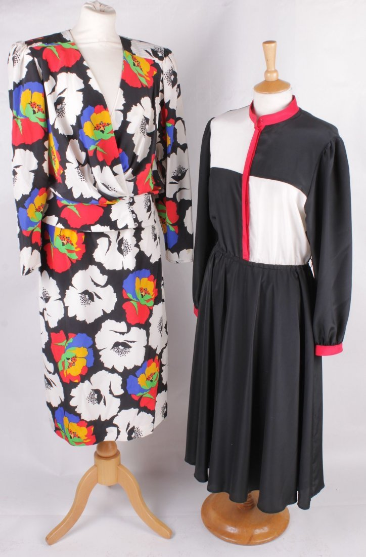 A quantity of vintage costume, including: a Dorville