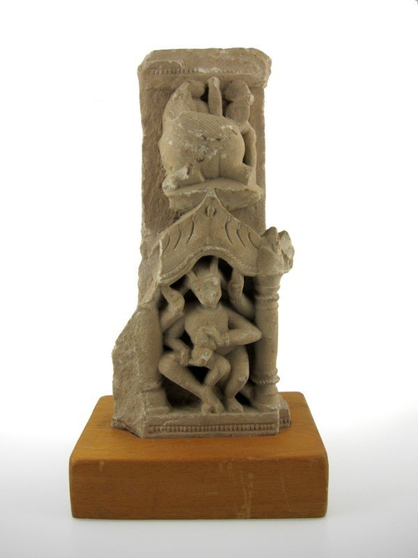 1: Indian Stone Temple Carving