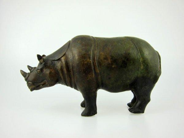 7: Bronze Rhinocerous