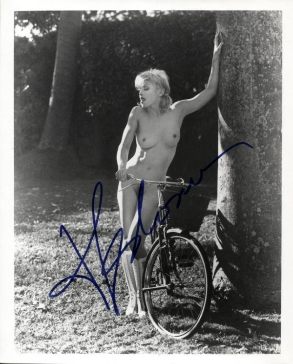 14: Madonna, Autographed Black and White Photograph