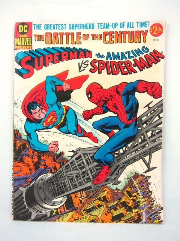 18: Comic Book, Superman vs the Amazing Spiderman